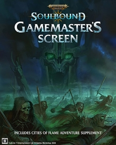Warhammer Age of Sigmar RPG: Soulbound Gamemaster's Screen