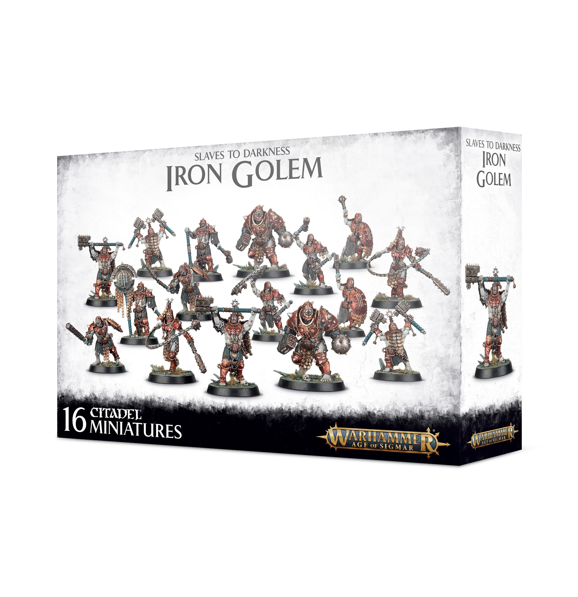 Warhammer Age of Sigmar: Slaves to Darkness: Iron Golem
