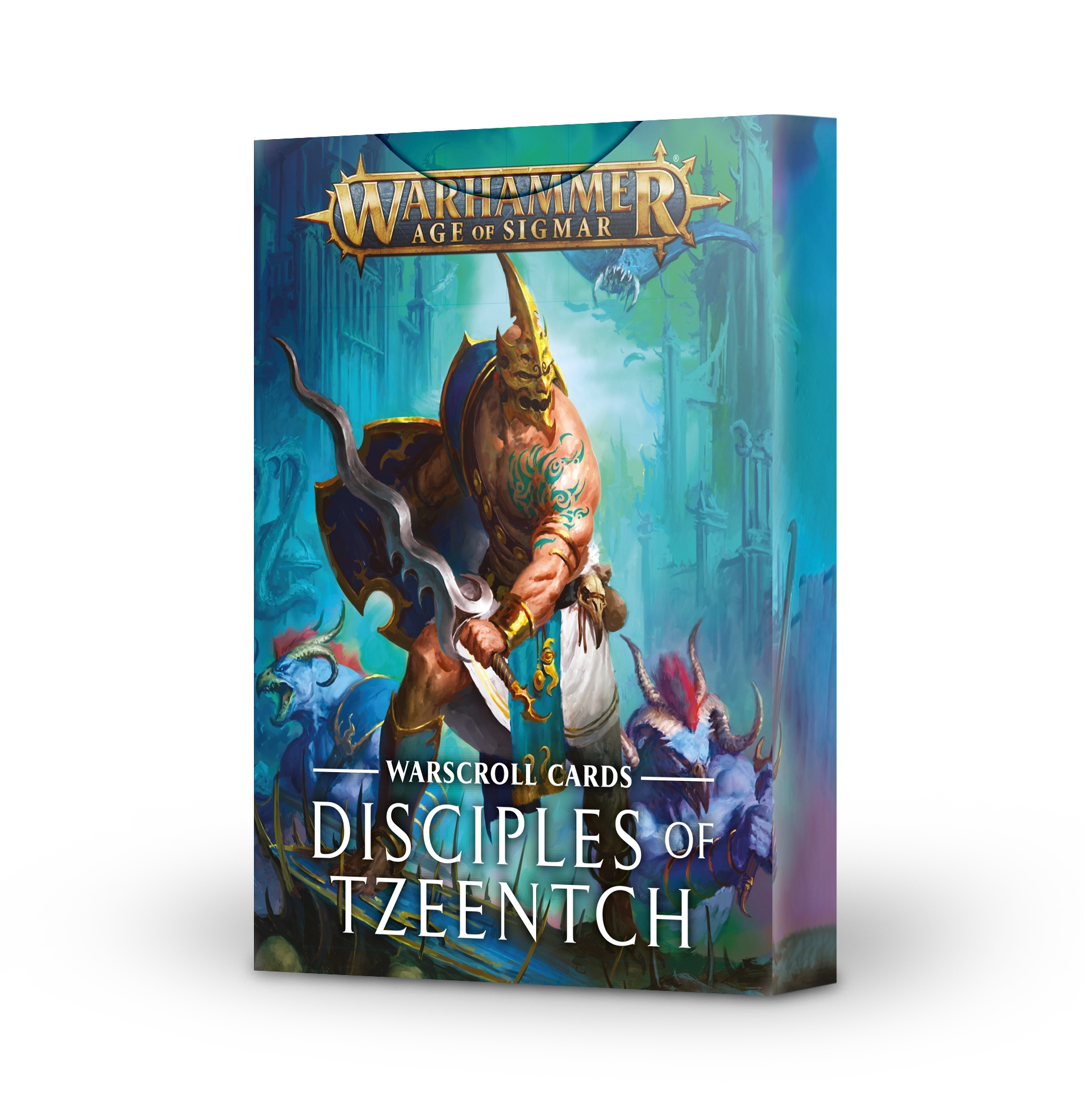 Warhammer Age of Sigmar: Warscroll Cards - DISCIPLES OF TZEENTCH