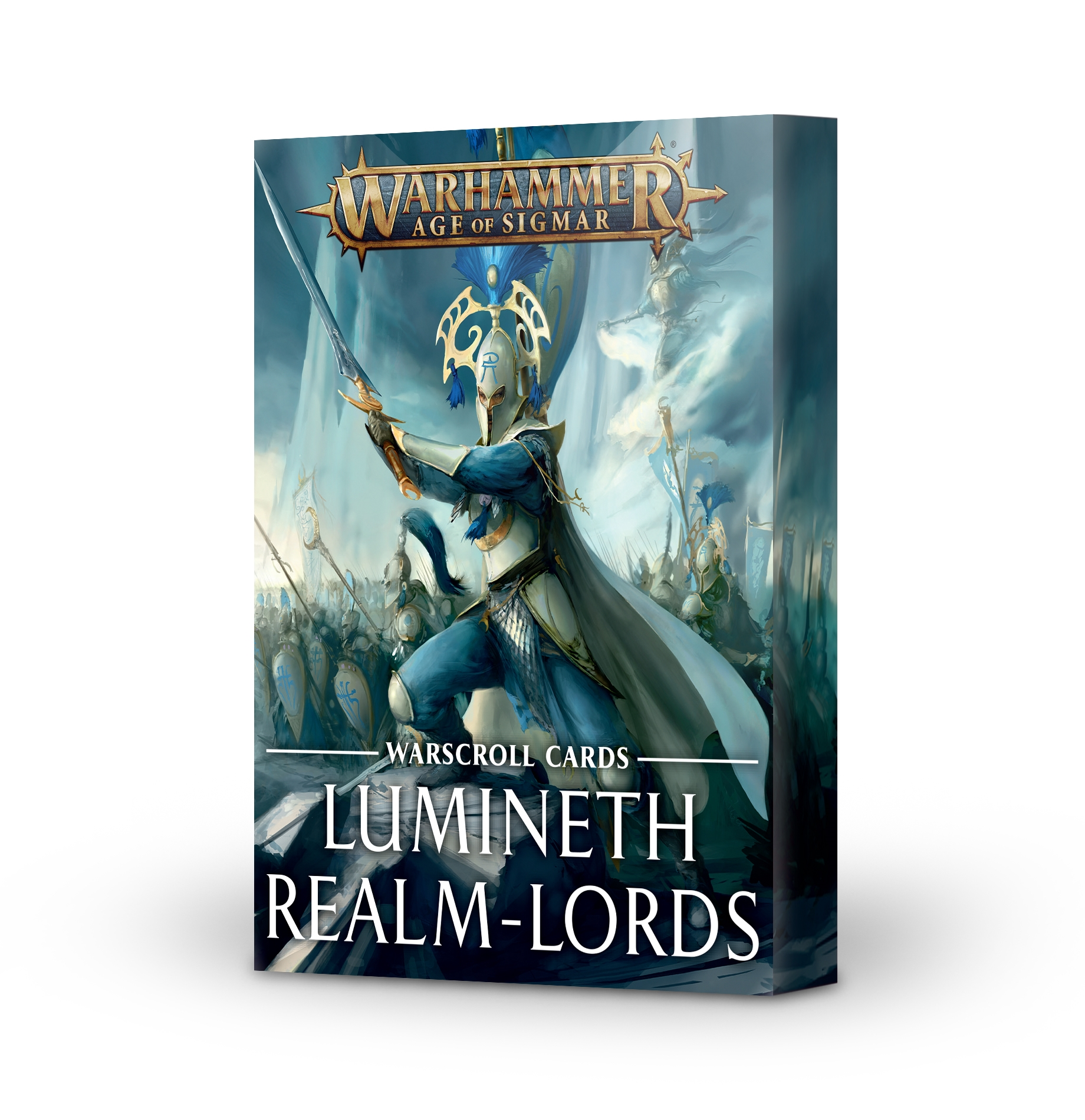 Warhammer Age of Sigmar: Warscroll Cards: Lumineth Realm-lords (Second Wave 2021)