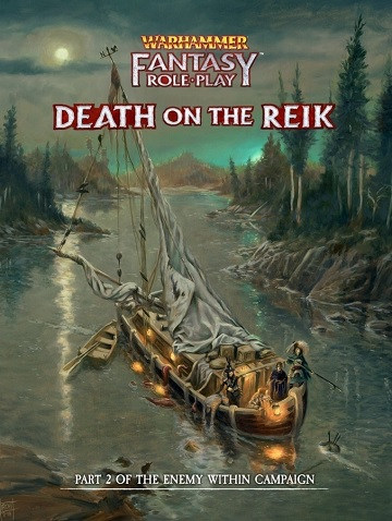 Warhammer Fantasy Roleplaying: Enemy Within Campaign #2 - Death on the Reik (HC)