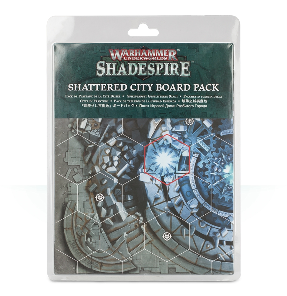 Warhammer Underworlds: Shattered City Board Pack