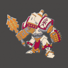 Warmachine: Crusader Pin