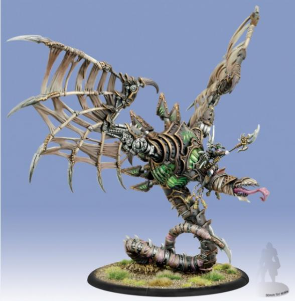 Warmachine: Cryx (34105): Deneghra, the Soul Weaver - Epic Cavalry Battle Engine Warcaster