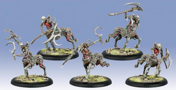 Warmachine: Cryx (34121): Soulhunters - Cryx Cavalry Unit