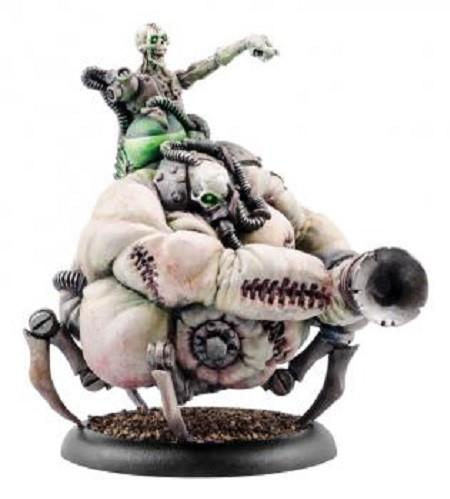 Warmachine: Cryx (34131): Bloat Thrall Overseer Mobius