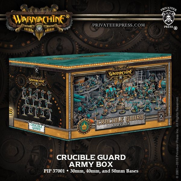 Warmachine: GOLDEN CRUCIBLE ARMY BOX