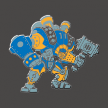Warmachine: Ironclad Pin