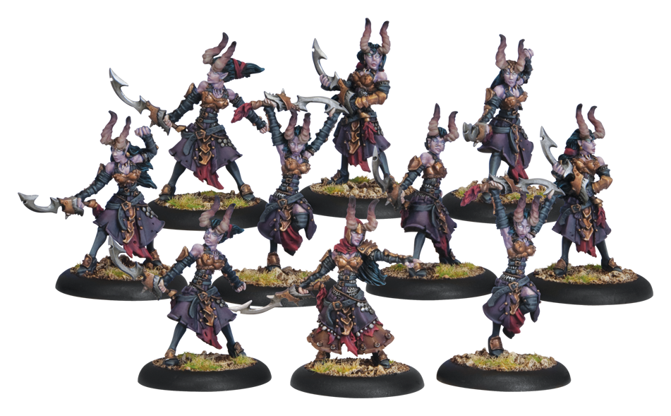 Warmachine: Cryx (34072): Satyxis Blood Witches