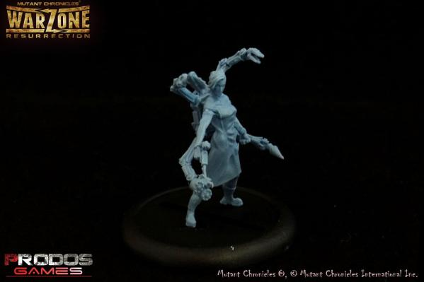 Warzone Resurrection: Cybertronic Heroes: Dr Diana, Commander
