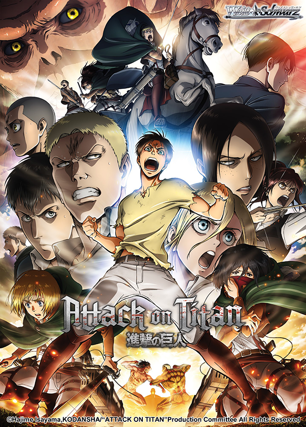 Weiss Schwarz: Attack on Titan -Booster Pack [V2]