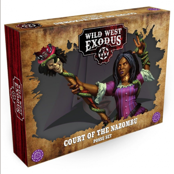 Wild West Exodus The Hex: Court of the Nazombu Posse Set