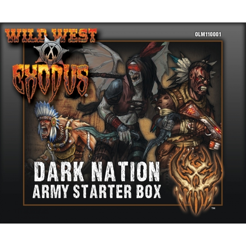 Wild West Exodus Dark Nation: Starter Box