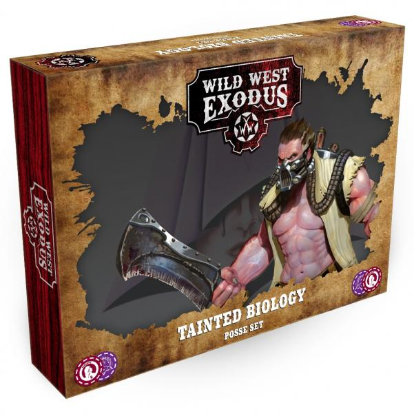Wild West Exodus Dark Nation: Tainted Biology Posse Set
