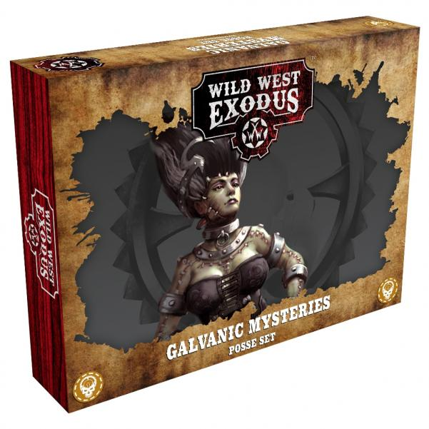Wild West Exodus Enlightened: Galvanic Mysteries Posse Set