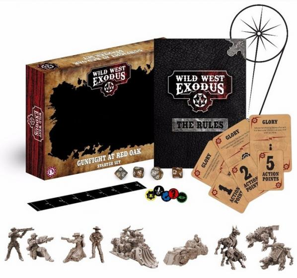 Wild West Exodus: Gunfight at Red Oak- Starter Set