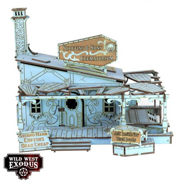 Wild West Exodus: Red Oak Crematorium