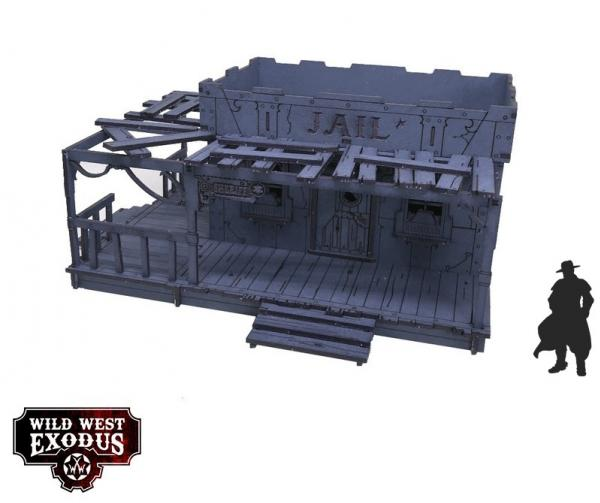 Wild West Exodus: Red Oak Jail