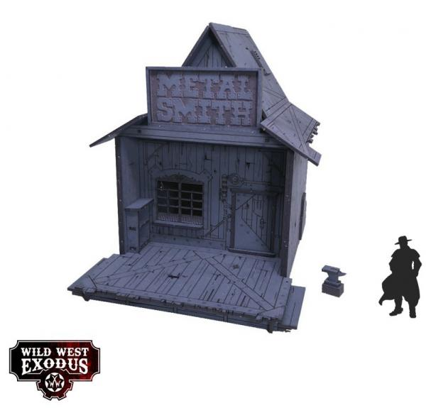 Wild West Exodus: Red Oak Metal Smith