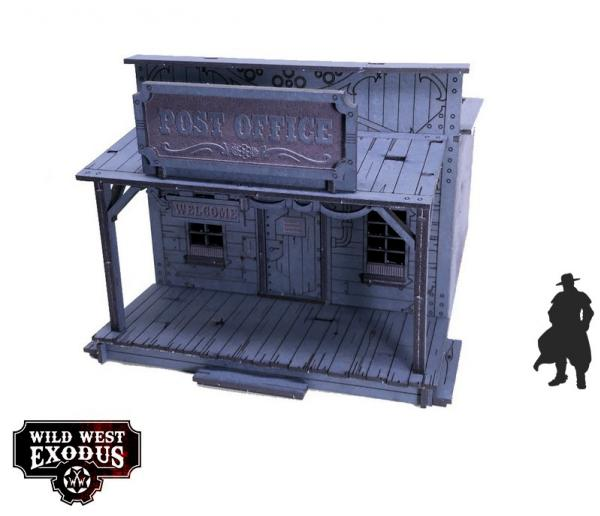 Wild West Exodus: Red Oak Post Office