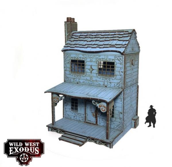 Wild West Exodus: Red Oak Town House