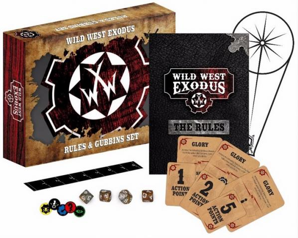 Wild West Exodus: Rules & Gubbins Set