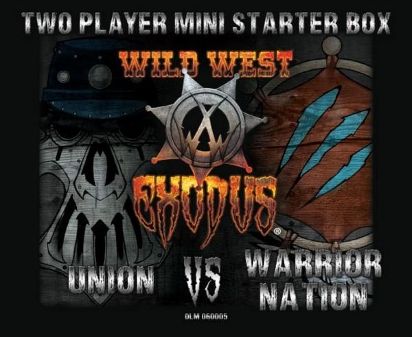 Wild West Exodus: Two Player Mini Starter Box - Union vs Warrior Nation