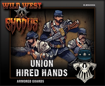 Wild West Exodus Union: Armored Guards Box (Hired Hands)
