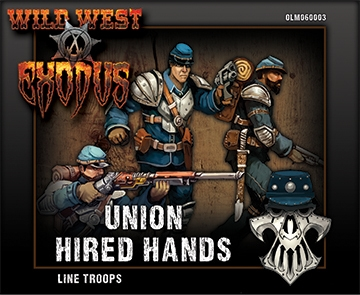 Wild West Exodus Union: Line Troops Box (Hired Hands)