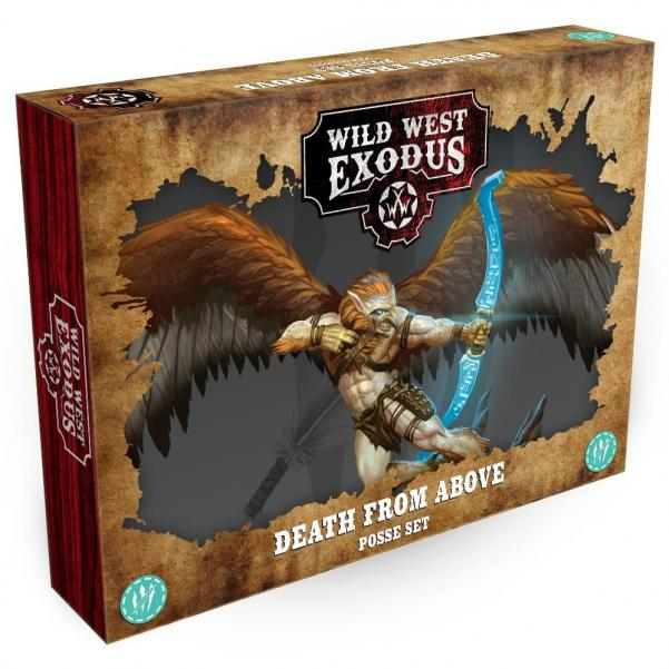 Wild West Exodus Warrior Nation: Death from Above Posse Set