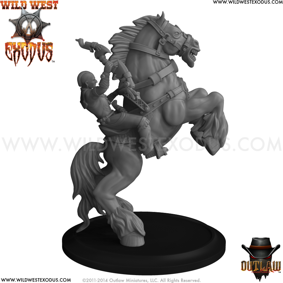 Wild West Exodus Warrior Nation: Energy Beast (Pose 3) (Light Support)