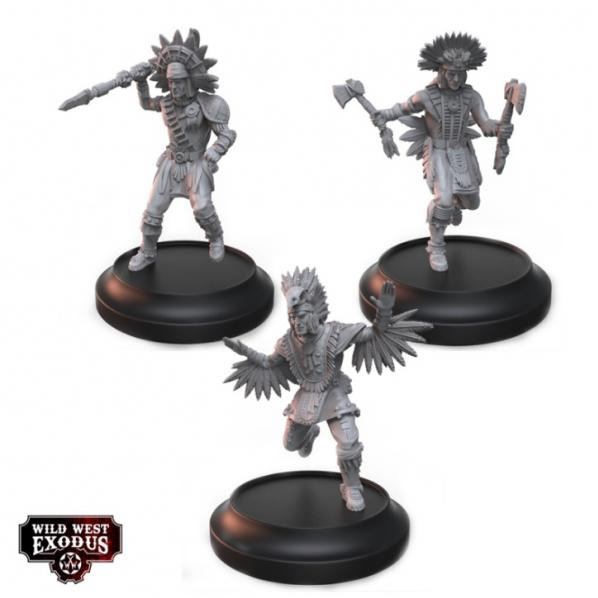 Wild West Exodus Warrior Nation: Great Spirit Shamen