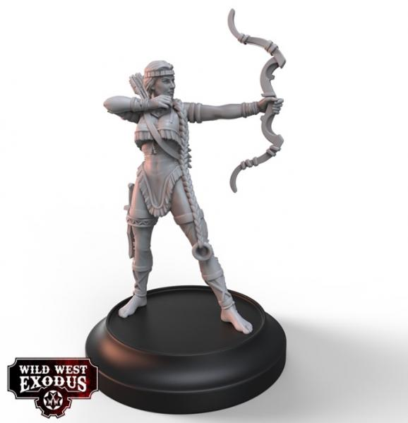 Wild West Exodus Warrior Nation: Hawkeye