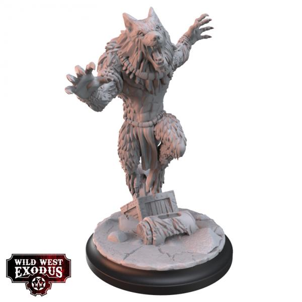 Wild West Exodus Warrior Nation: Legendary Ghost Wolf