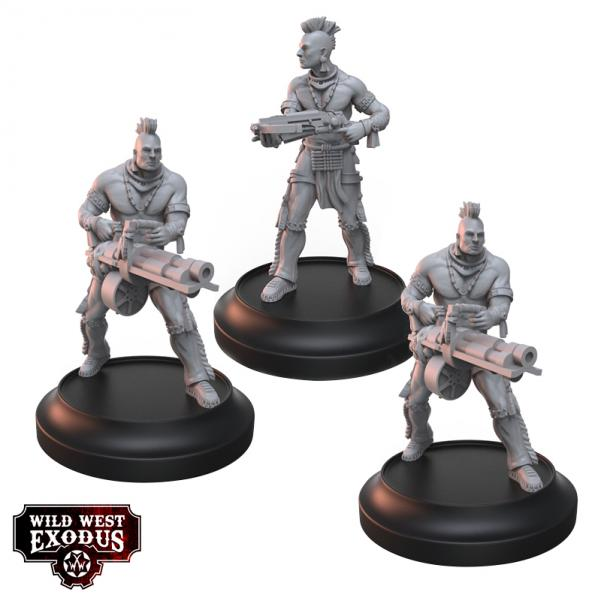 Wild West Exodus Warrior Nation: The Kaga Brothers Set
