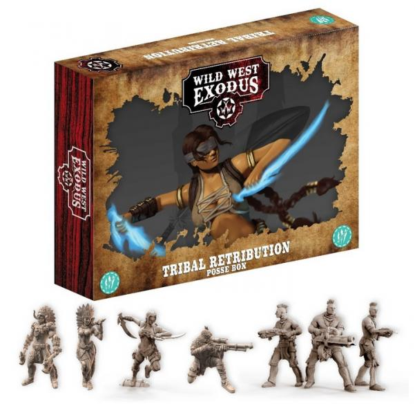 Wild West Exodus Warrior Nation: Tribal Retribution Posse Box