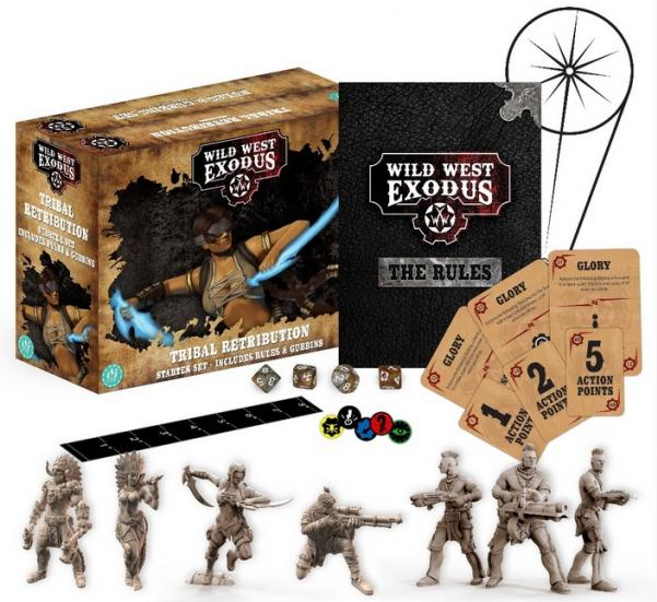 Wild West Exodus Warrior Nation: Tribal Retribution Starter Set