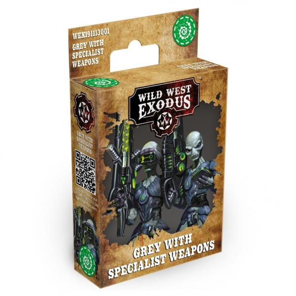 Wild West Exodus Watchers: Grey with Specialist Weapons