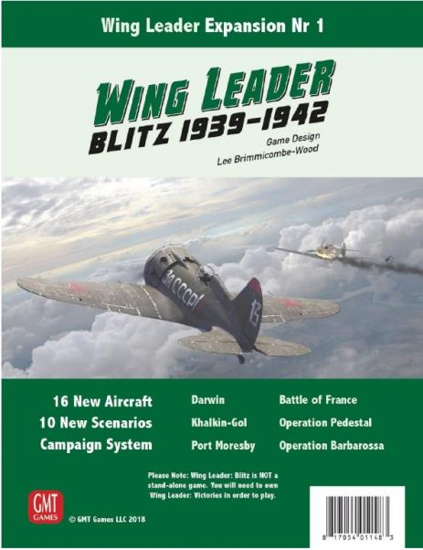 Wing Leader Blitz 1939 - 1942