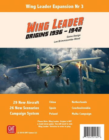 Wing Leader Victories: Origins 1936-1942 Expansion