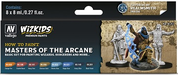 Wizkids Premium Paints: How To Paint- Masters Of The Arcane