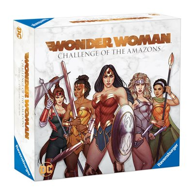 Wonder Woman: Challenge of the Amazon [WATER DAMAGED]
