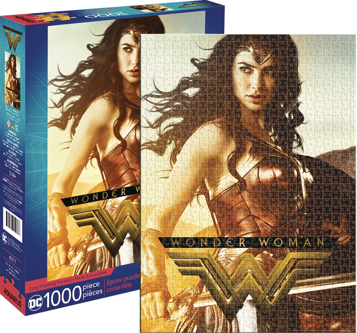 Wonder Woman Movie (1000 Piece Puzzle)