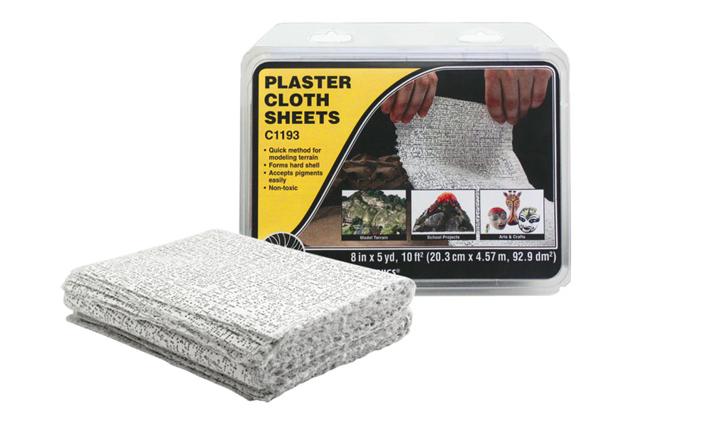 Woodland Scenics: Plaster Cloth - Sheets