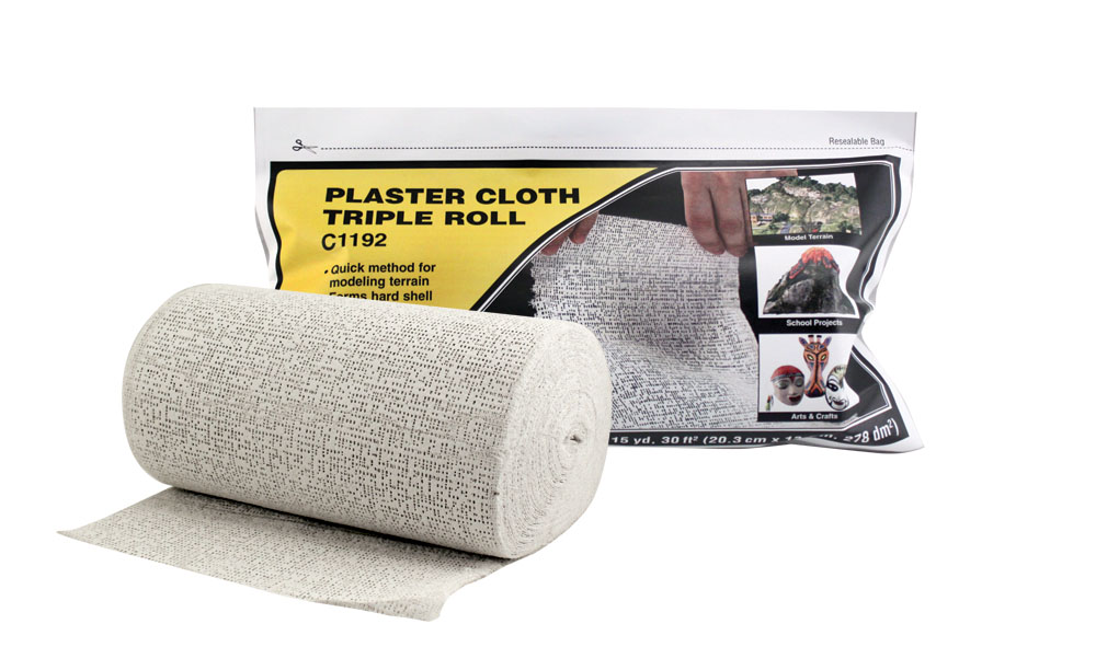 Woodland Scenics: Plaster Cloth - Triple Roll