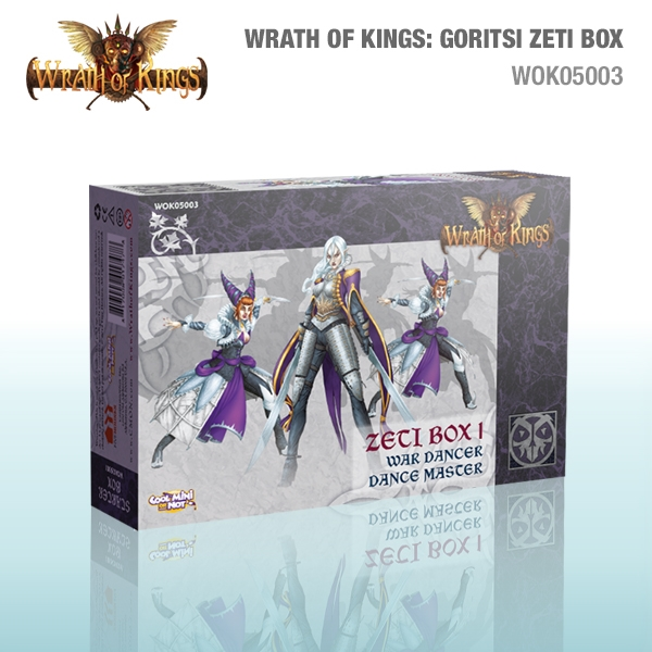 Wrath of Kings House of Goritsi: Zeti Box