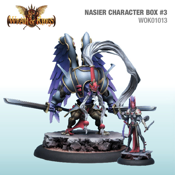 Wrath of Kings House of Nasier: Character Box 3