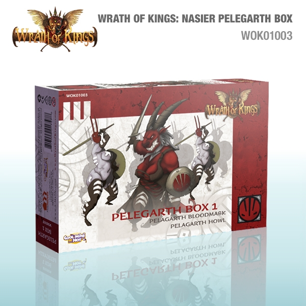 Wrath of Kings House of Nasier: Pelegarth Box 1