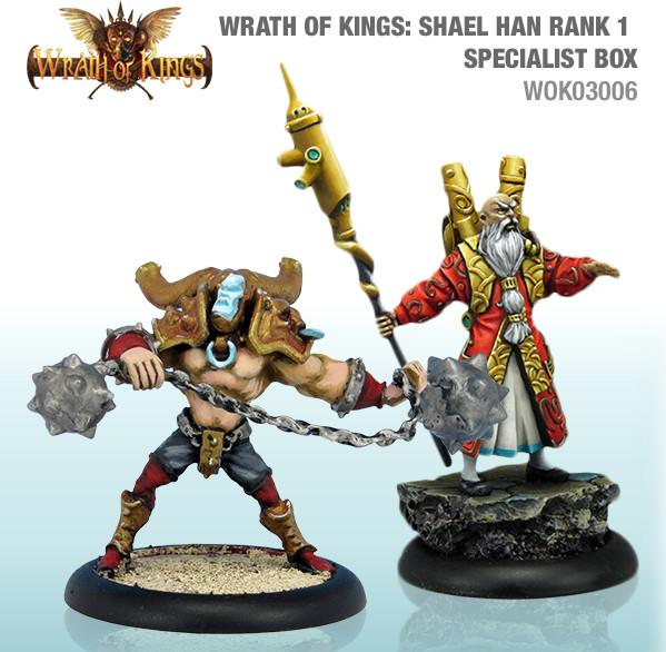 Wrath of Kings House of Shael Han: Specialist Box 1 (SALE)