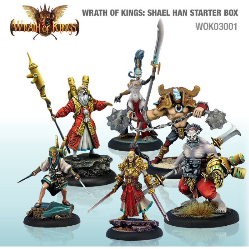 Wrath of Kings House of Shael Han: Starter Box